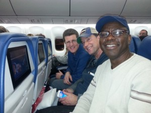 Pastors on the airplane