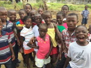 Photo of Liberian children