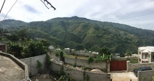 Haiti view from mission house
