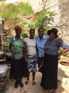 Photo of Haiti cooks